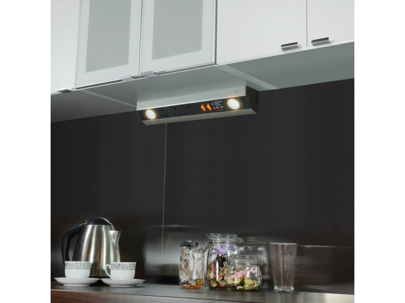 Under Cabinet) with 2 LED spot light