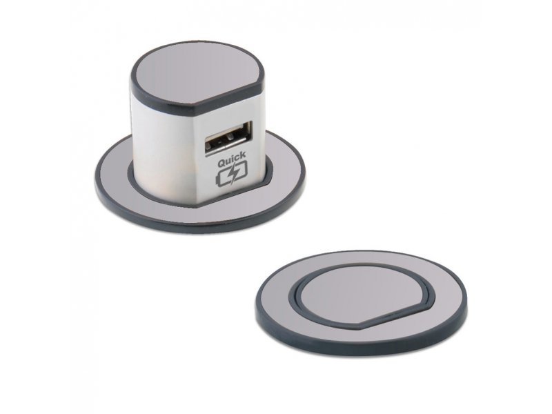Miniature Pop-Up USB Charger (Type A Quick Charger – 3.1A)