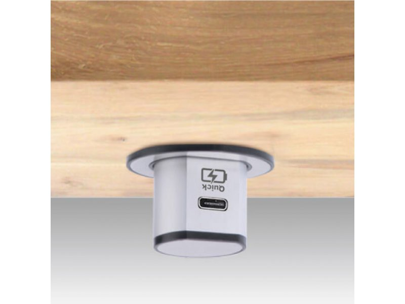 Miniature Pop-Up USB Charger (Type C Quick Charger – 3.1A)