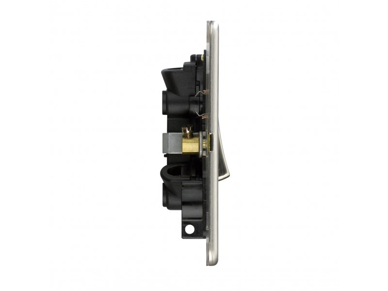 Flat Plate Screwless 20A DP Switch with Neon