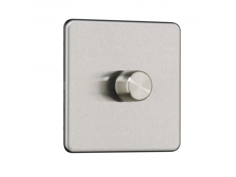 Flat Plate Screwless 13A Switched Fused Spur with Neon