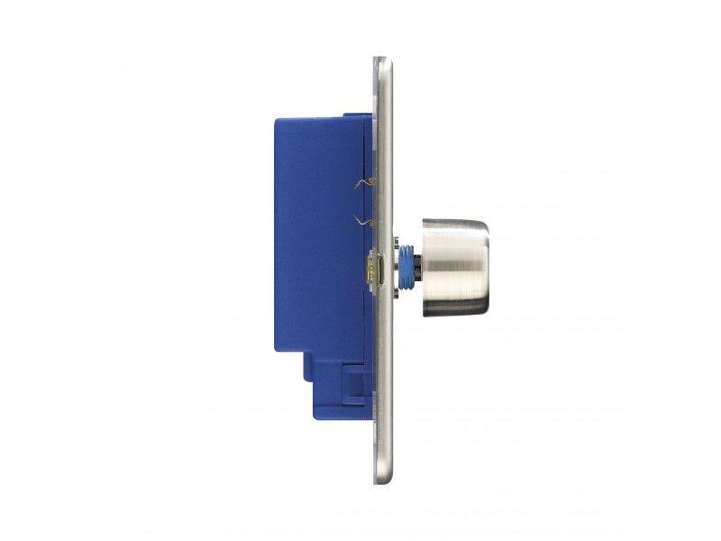 Flat Plate Screwless 1G 2 way 400W Single Dimmer Switch