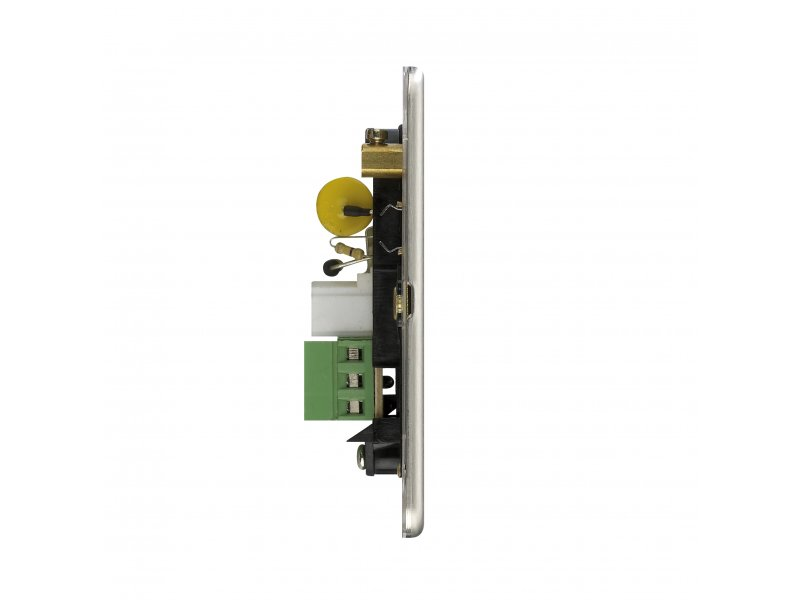 Flat Plate Screwless 1G Single Master Telephone Socket