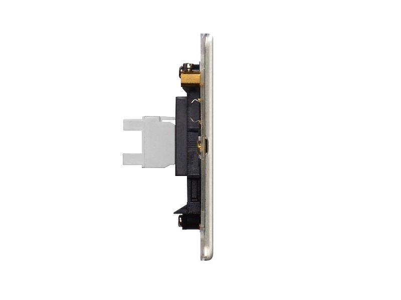 Flat Plate Screwless 1G RJ45 Computer Socket